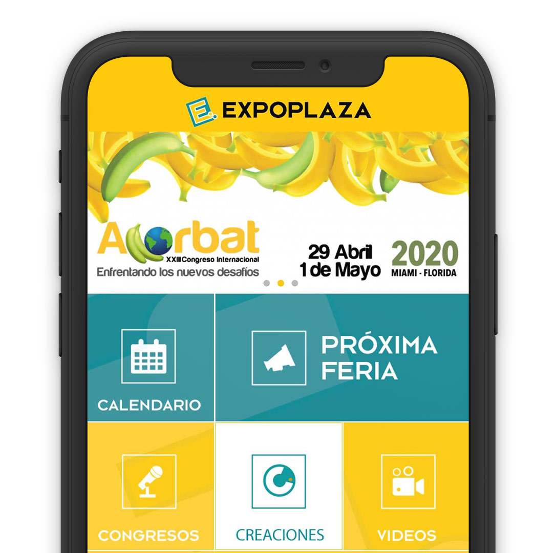Expoplaza Solution Mobile App Online Direct Booking System Reservation Smartphone