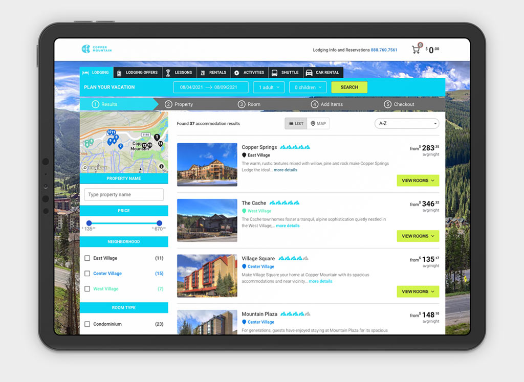 direct booking booking reservation system solution mobile app online 2