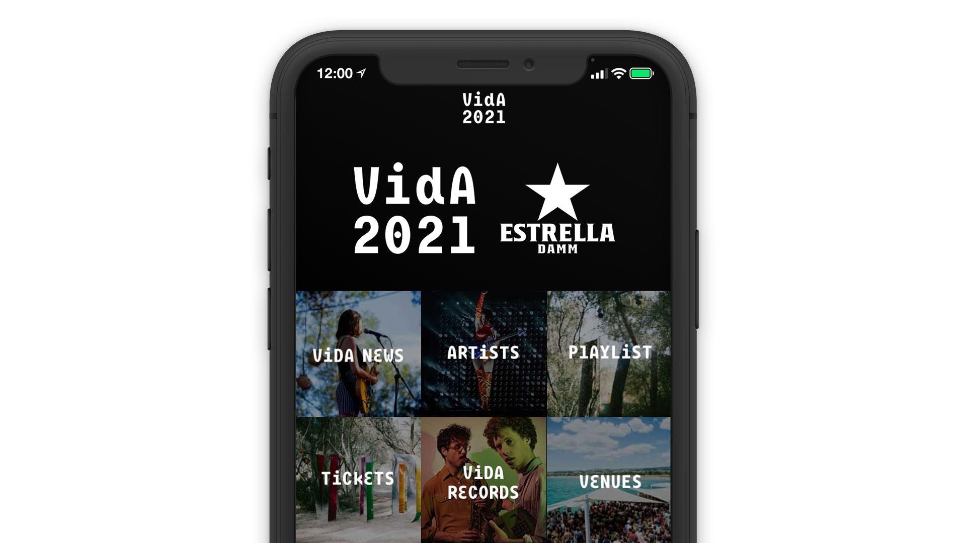 vida festival online direct booking system reservation solution mobile app laptop
