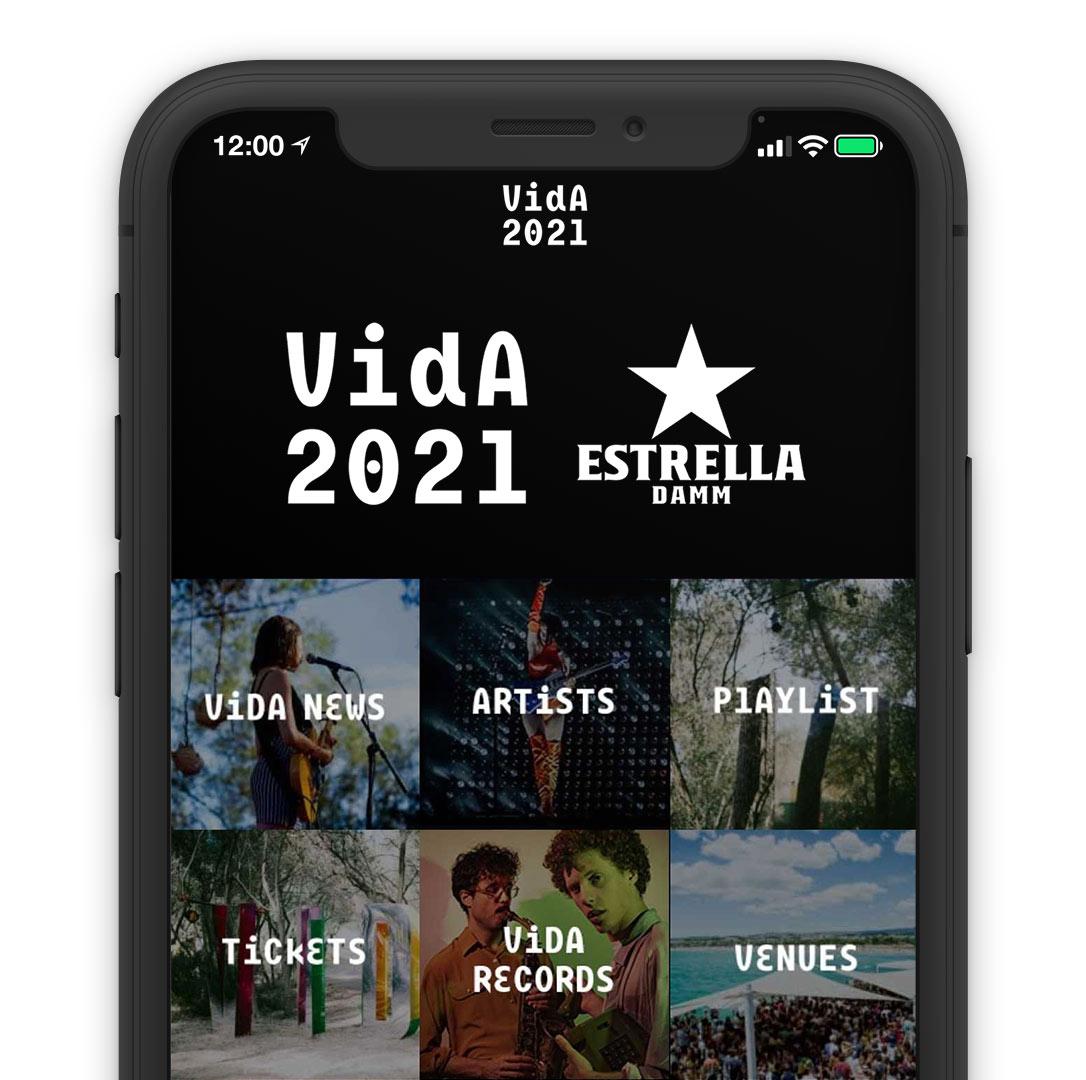 vida festival online direct booking system reservation solution mobile app smartphone